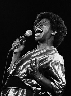 Betty Carter at the U.C. Jazz Festival, 1980