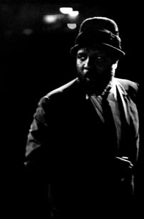Thelonious Monk at the Monterey Jazz Festial, 1963